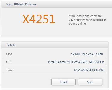 3DMark11 Xtreme