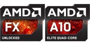 amd fx amd apu richland nuevos logos