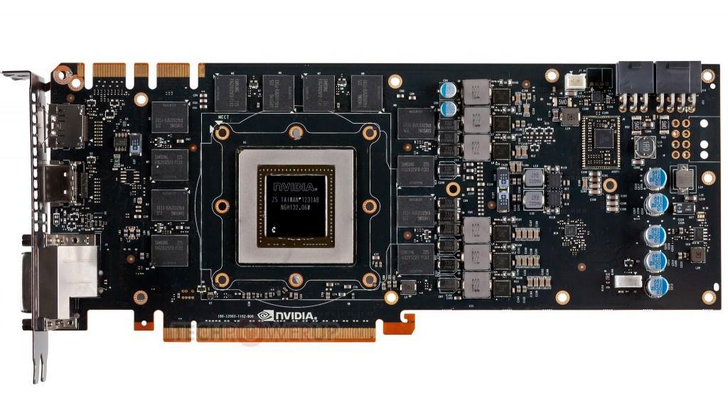 nvidia geforce gtx titan gk110 PCB