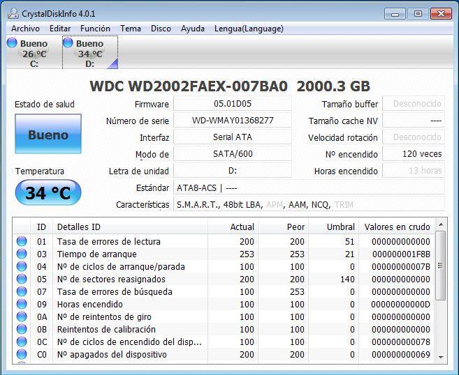 CystalDisk Info