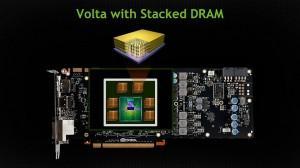 Nvidia Volta stacked RAM