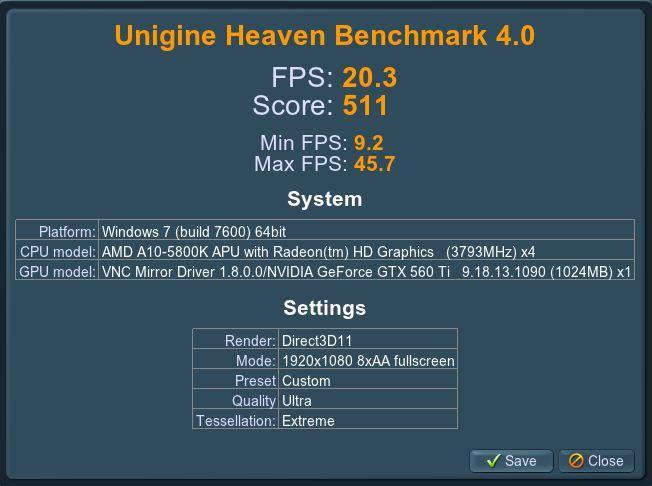 Unigine 4 1080p