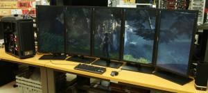 AMD Radeon HD 7990 eyefinity 5x Tomb Raider
