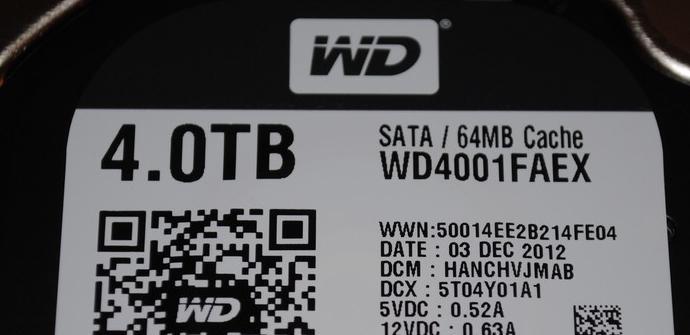 WD Black 4Tb SATA3