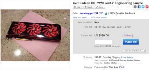 amd radeon hd 7990 ES ebay