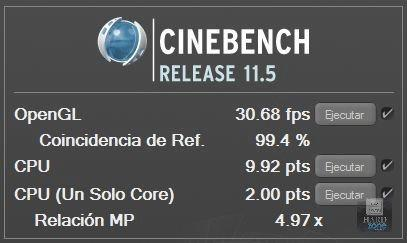 OC Cinebench 11.5