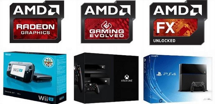 AMD consolas
