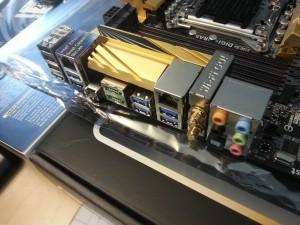 ASUS X79 Deluxe ivy bridge-e conexiones