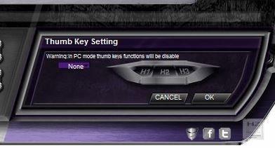2 - Thumb Key Setting