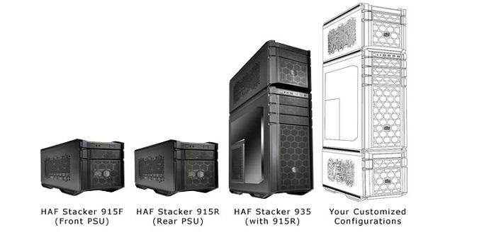 Cooler Master HAF Stacker 690x335