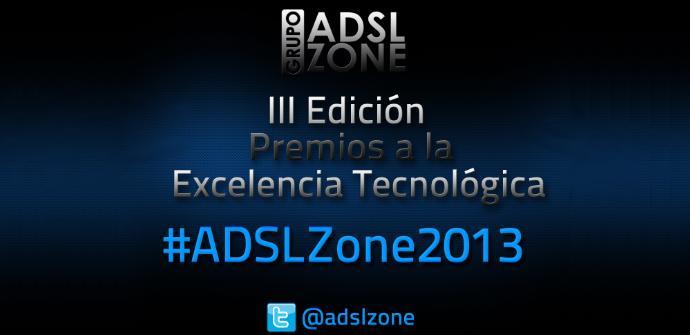 Premios ADSLZone 2013