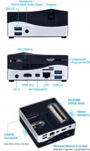 gigabyte brix proyector