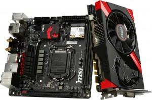 msi gaming Z87I Gaming AC GTX 760 Gaming OC ITX