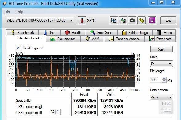 11.- HD Tune File