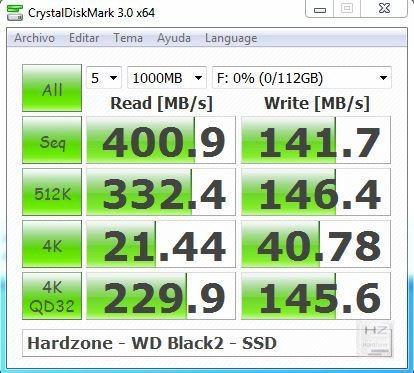 8.- CrystalDisk Mark SSD