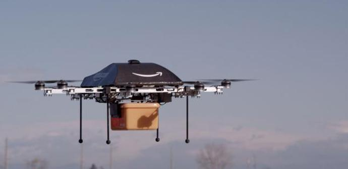 Amazon Prime Air: el drone mensajero de Amazon para entregar paquetes