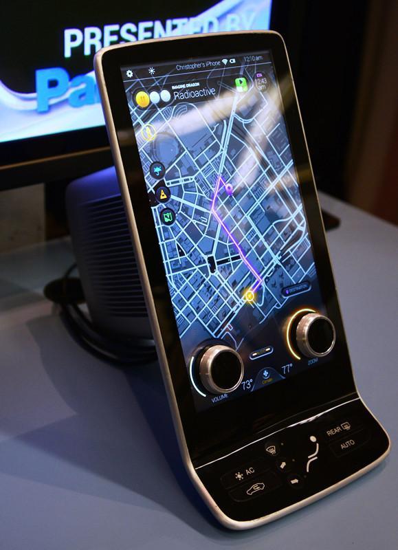 Panasonic pantalla