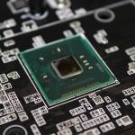 detalle del chipset Z87 al descubierto