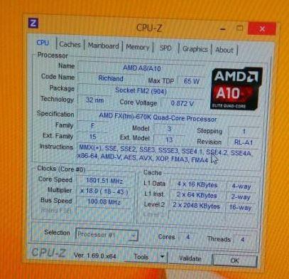 AMD FX 670K