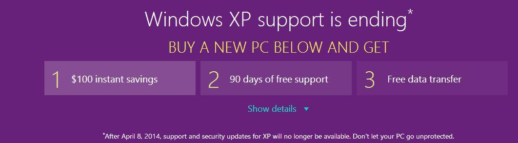 Win XP Support