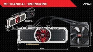 AMD Radeon R9 295X2 dimensiones