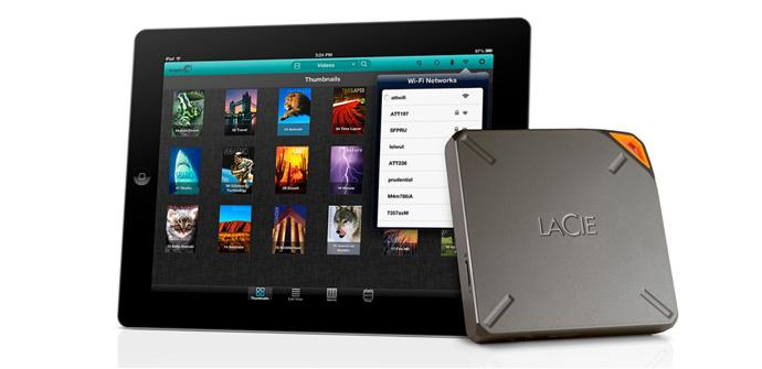 LaCie Wireless Fuel