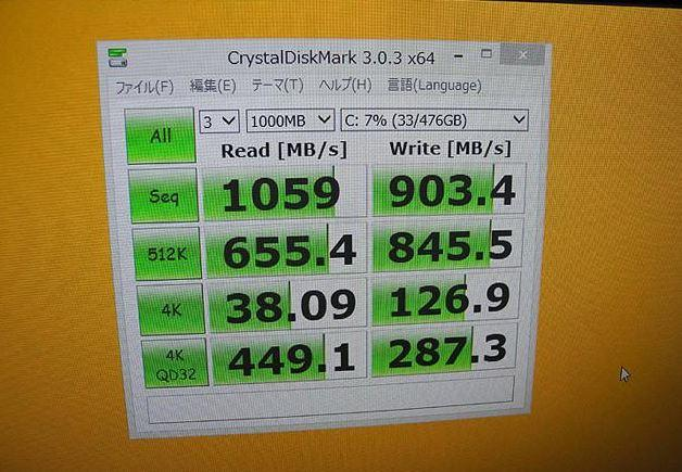 SSD Samsung XP941