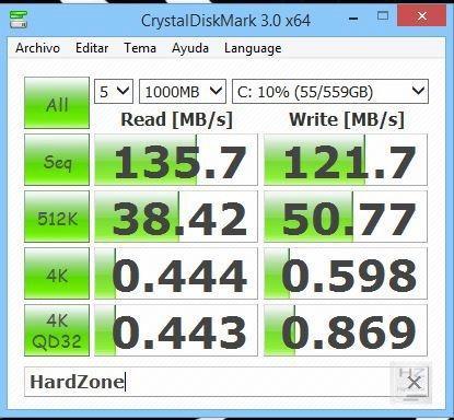 CrystalDiskMark 1