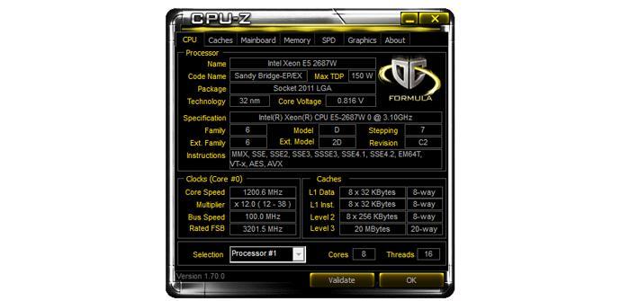 CPUZ v70