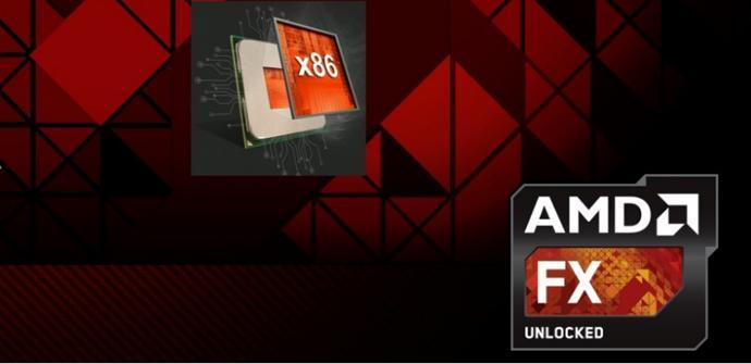 AMD x86 logo