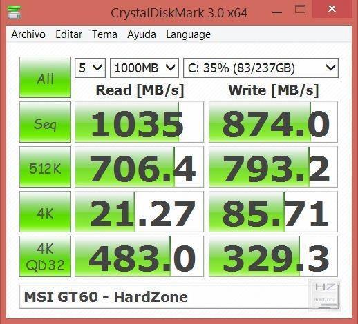 CrystalDisk SSD