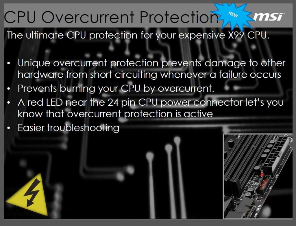 cpu overcurrent prot