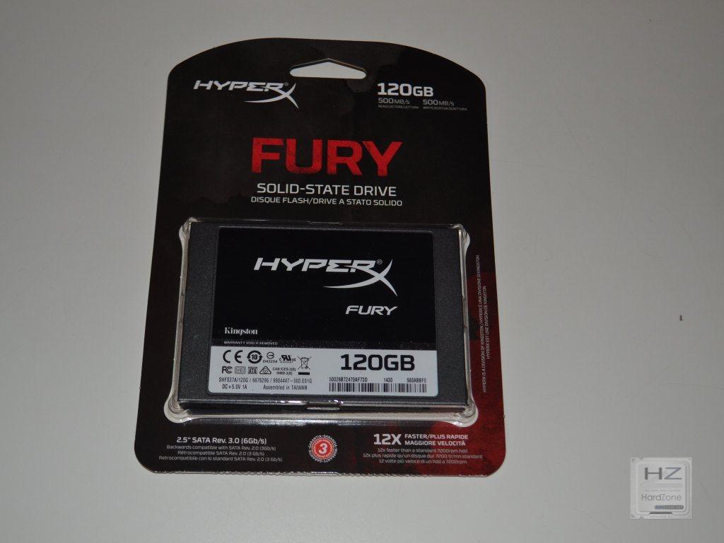 Kingston HyperX Fury SSD -001