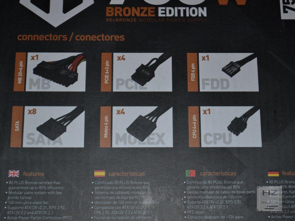 NOX Hummer Bronze Edition 750W -004