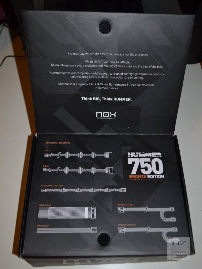 NOX Hummer Bronze Edition 750W -027