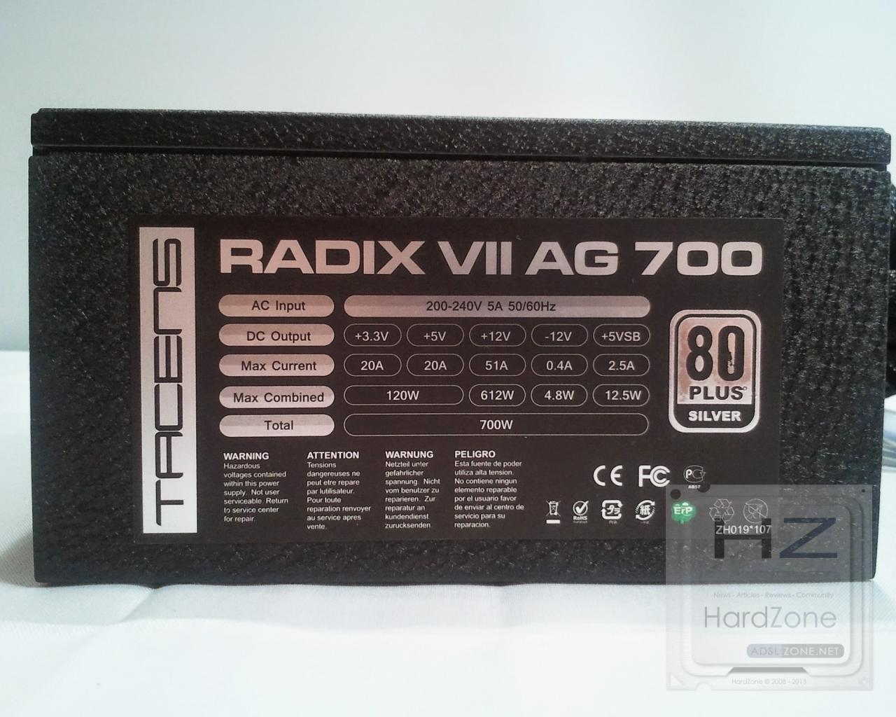 Tacens Radix VII AG 700_1_011