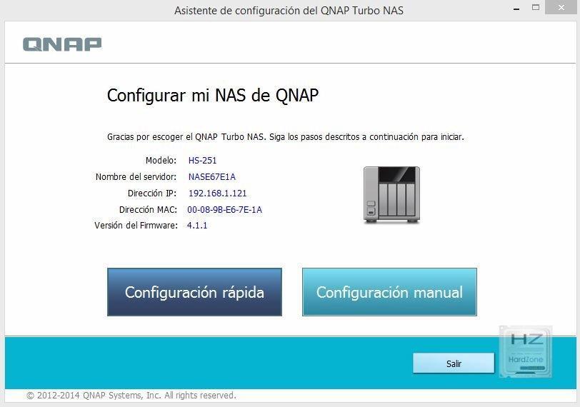QNAP HS-251 - HardZone