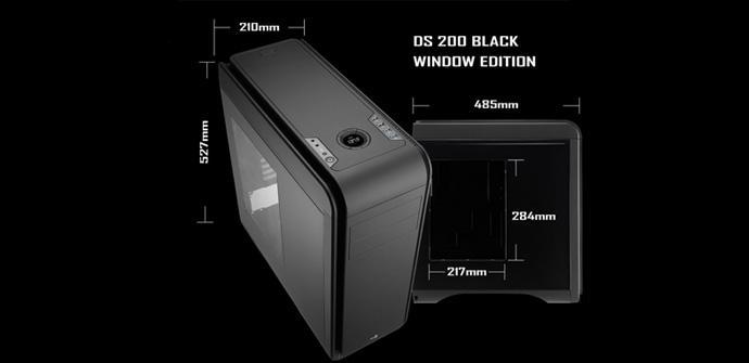 Aerocool DS200 Black