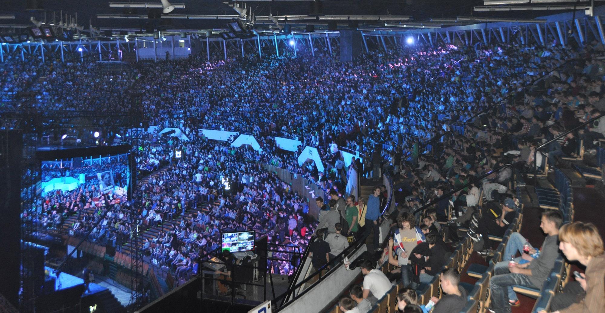 Imagen del Intel Extreme Masters 2014