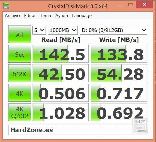 CrystalDisk HD