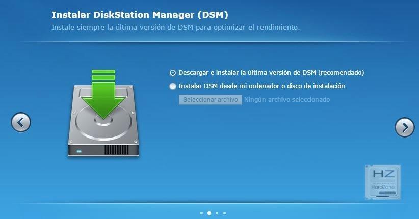 3.- Instalar DSM