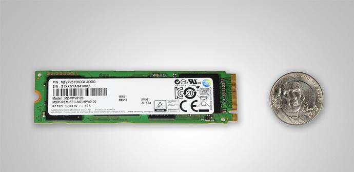 Samsung NVMe PCIe SSD M2