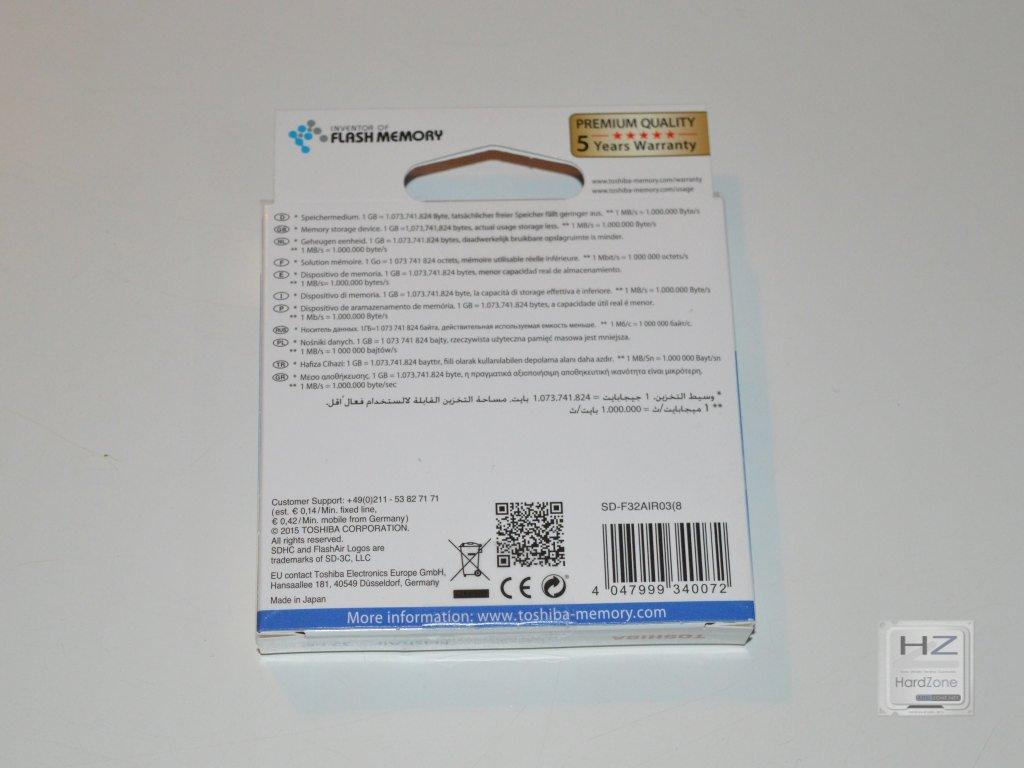 Toshiba FlashAir 32GB -002