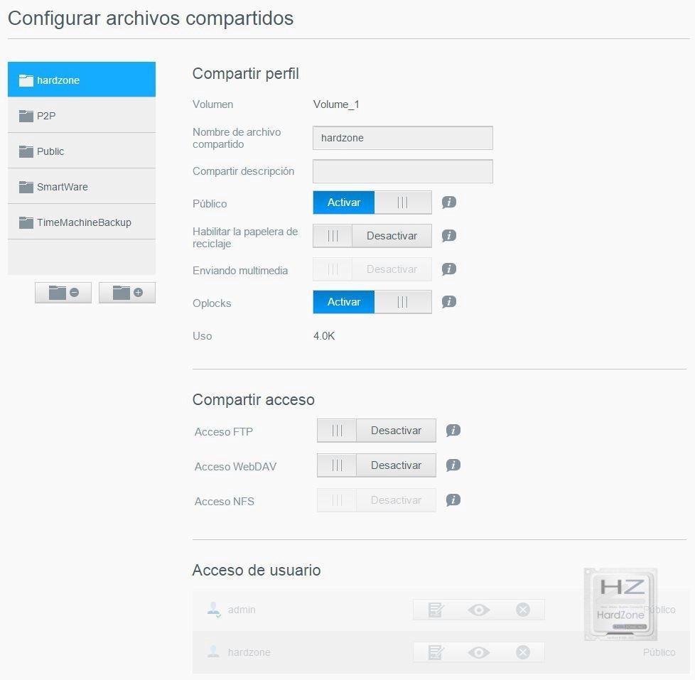 8.- Configurar archivos compartidos