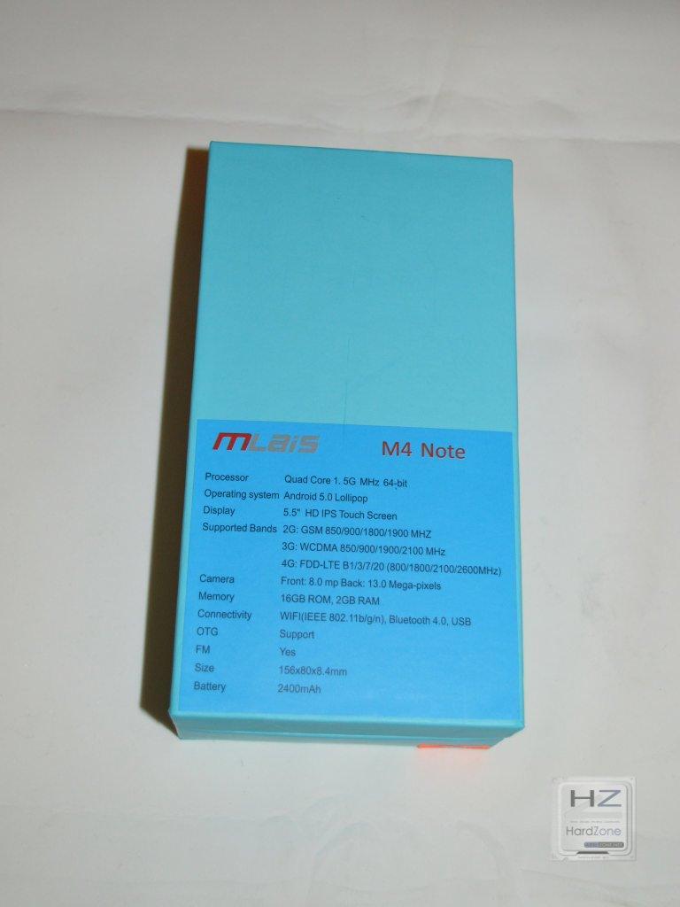 MLAIS M4 Note -003