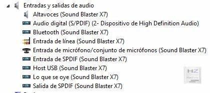1.- Entradas de audio