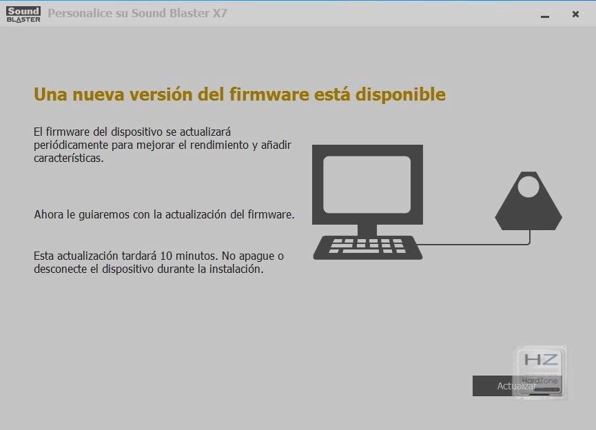2.- Actualización de Firmware