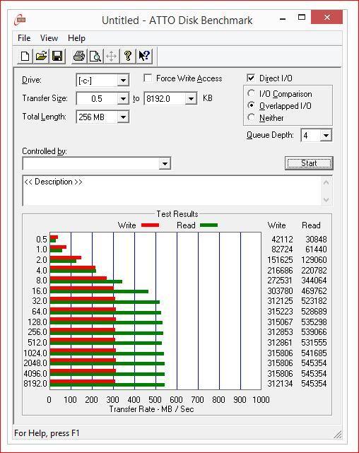 atto disk benchmark asrock