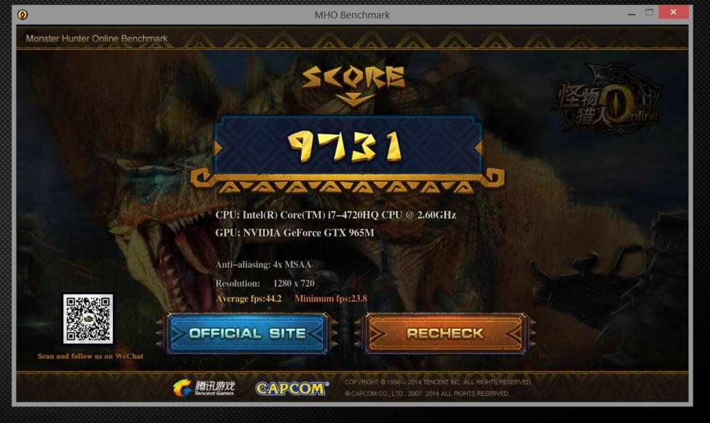 monster hunter 1280x720