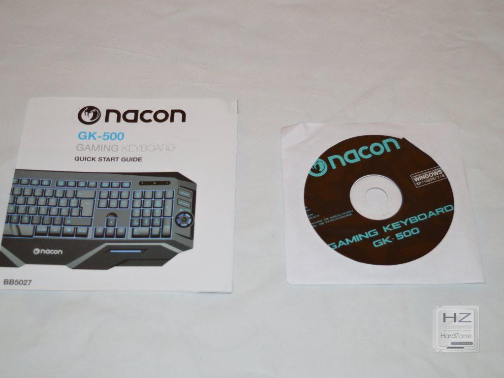 Nacon Gaming GK-500ES -006